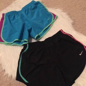 Set of 2 Nike shorts size youth large